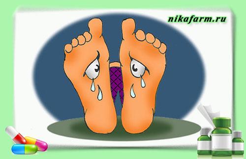 болезни стопы