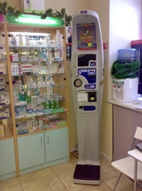 измерительный аппарат в аптеке