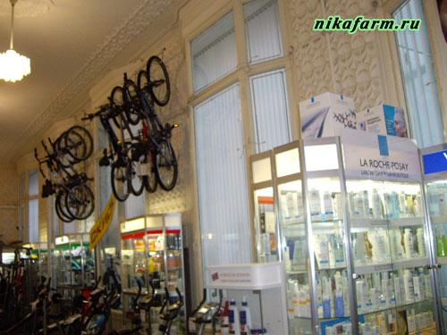 велосипеды в аптеке