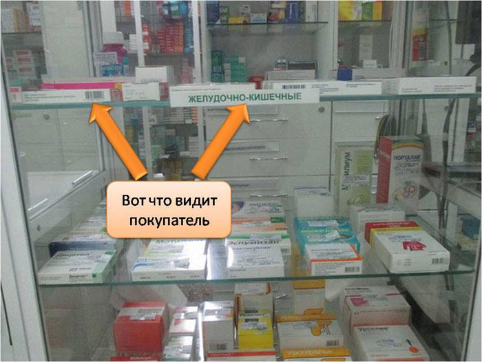 Названий препаратов не видно