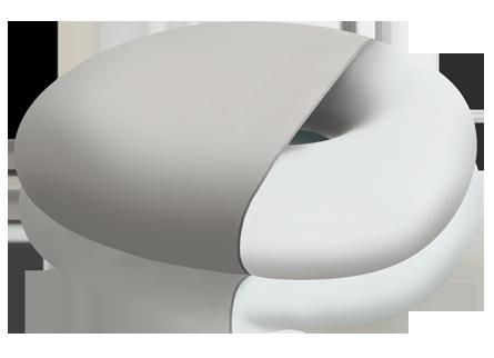 подушка с отверстием