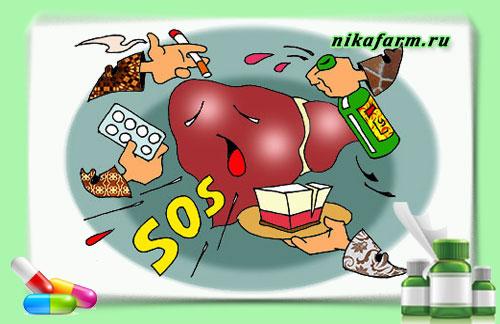 почему болит печень