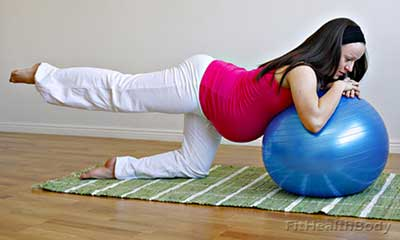 мяч для беременных