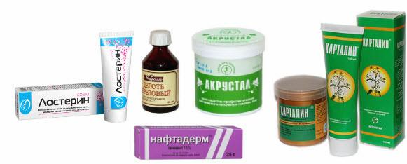 негормональные средства от псориаза