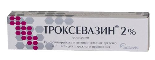 троксевазин гель
