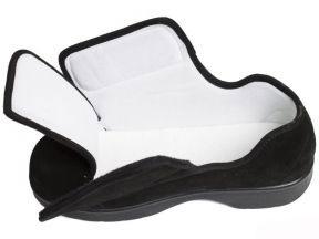 Широкое раскрытие обуви