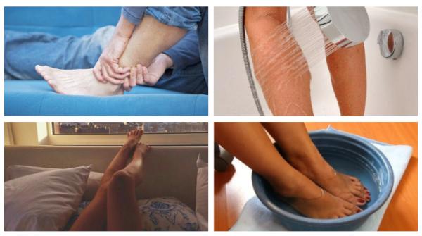 Как успокоить ноги?