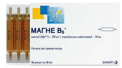 Магне-В6-жидкий