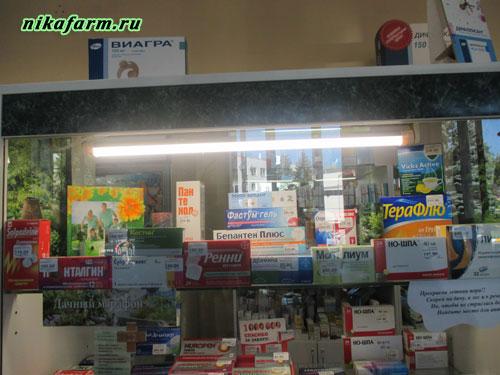 Неравномерное освещение витрин
