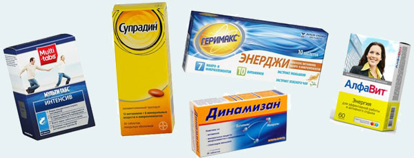Комплекс витаминов и минералов при усталости