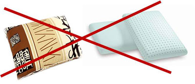 неправильные ортопедические подушки