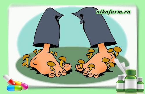 Смола в лечение грибка ногтей