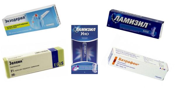 противогрибковые средства в аптеке
