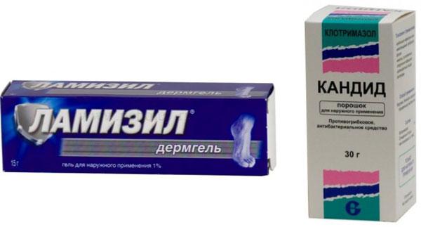 противогрибковые средства при мокнутии