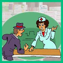 консультация во аптеке