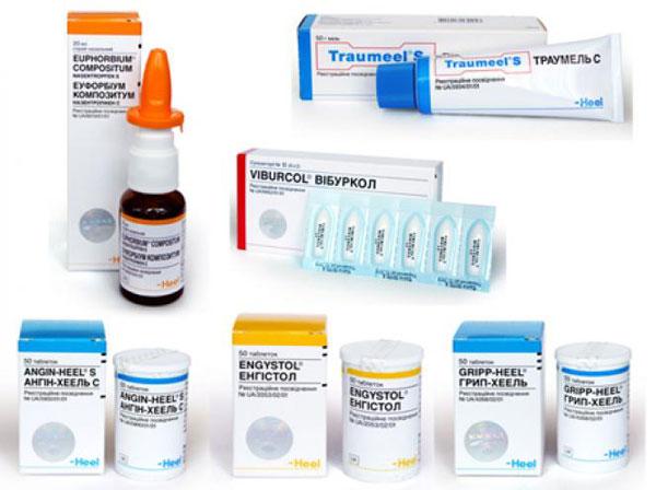 препараты гомеопатии